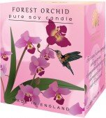 Forest orchid - pure soy candle