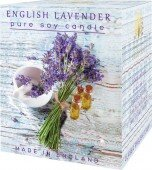 English lavender - pure soy candle