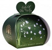 Lily of the valley luxury - guest soap