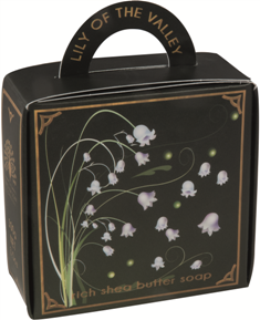 Lily of the valley luxury - handbag soap