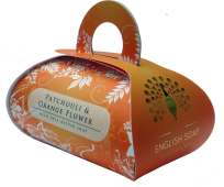 Patchouli & orange flower large - bath soap