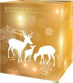 Reindeer - pure soy candle