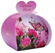 Summer rose luxury -guest soap