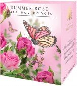 Summer rose - pure soy candle
