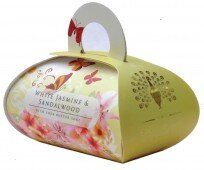 White jasmine & Sandalwood large - bath soap