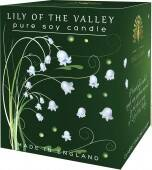 Lily of the valley - pure soy candle