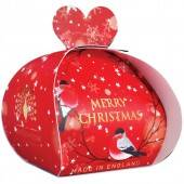 Merry christmas luxury - guest soap