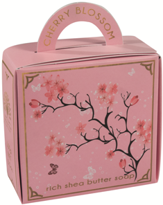Oriental spice & Cherry blossom luxury - handbag soap