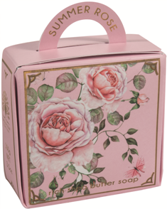 Summer rose luxury -handbag soap