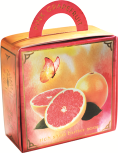 Pink grapefruit luxury - handbag soap